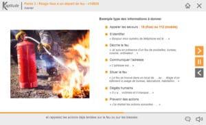 Initiation au risque incendie