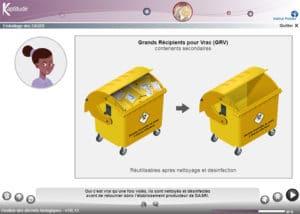 Gestion des déchets biologiques